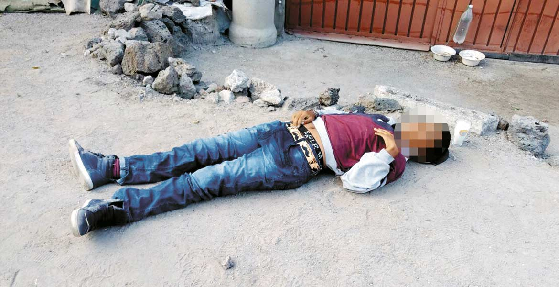 Homicidio. Un menor de 13 años fue ultimado de un balazo en la espalda, presuntamente durante una riña tras festejar Año Nuevo con sus amigos, en el poblado de Tejalpa.
