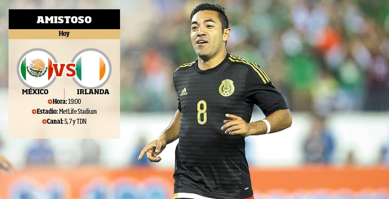 En duelo amistoso, México vence 3-1 a Irlanda