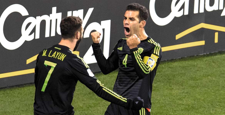 Goles de Rafael Márquez y Miguel Layún terminan con la 'Maldición de Columbus', al derrotar a Estados Unidos en el inicio del Hexagonal Final de Concacaf