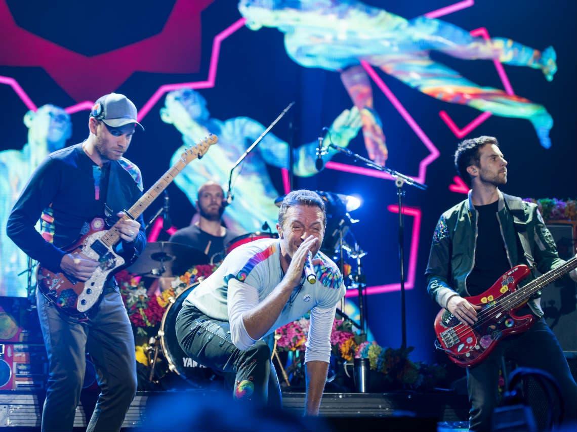 Coldplay anuncia su regreso a México en 2022
