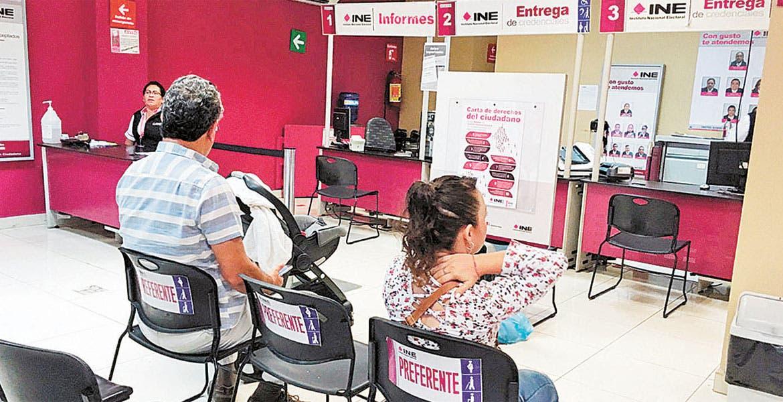 Amplían Horarios Para Renovar Ine Diario De Morelos