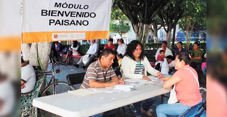 """Módulo. También en Cuautla se activó el """"Bienvenido Paisano"""", que se suma a otros dos existentes."""