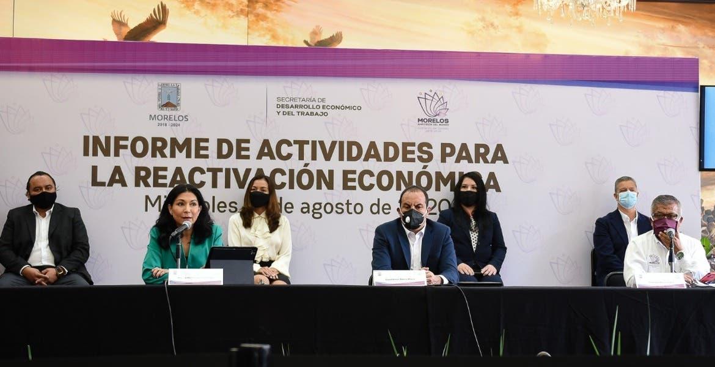 Beneficiarán en Morelos a 2 mil 500 empresas afectadas por COVID-19