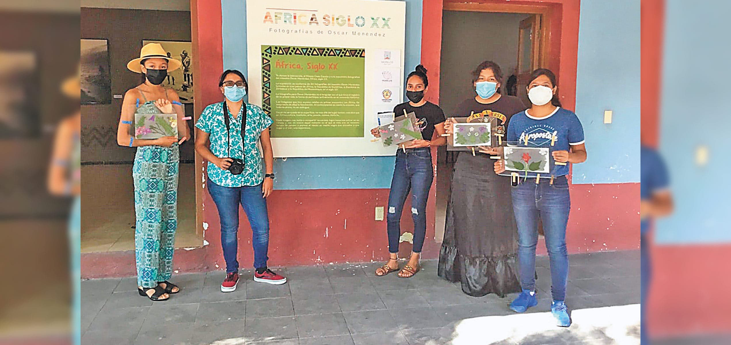 Dan taller de cianotipia en el Museo de Revolución del Sur