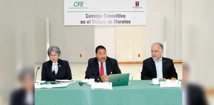 Entregan cuentas. La CFE en Morelos tuvo ganancias que espera incrementar durante 2017.