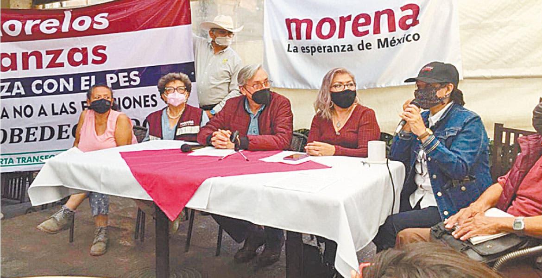 Decidirá militancia alianzas en Morelos: Morena