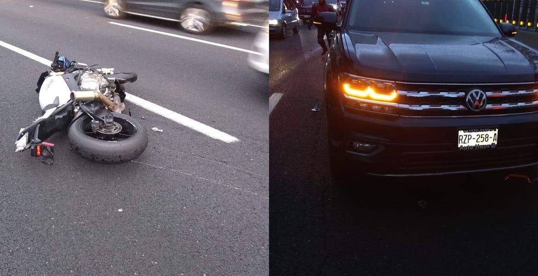 Muere otro motociclista en la México-Cuernavaca; ya son 3 en el año