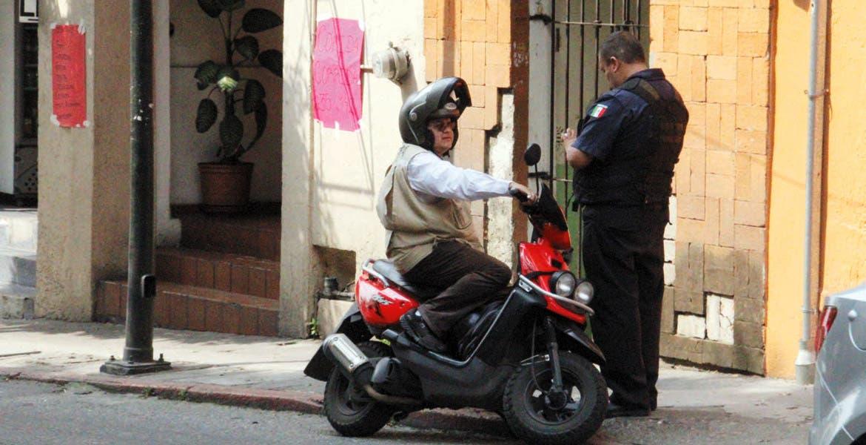 Vigilancia. Debido al crecimiento y constantes accidentes, se aplica el operativo a motociclistas.