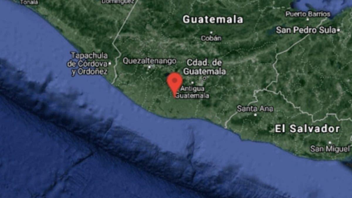 Sismo de 5.5 grados estremece Guatemala