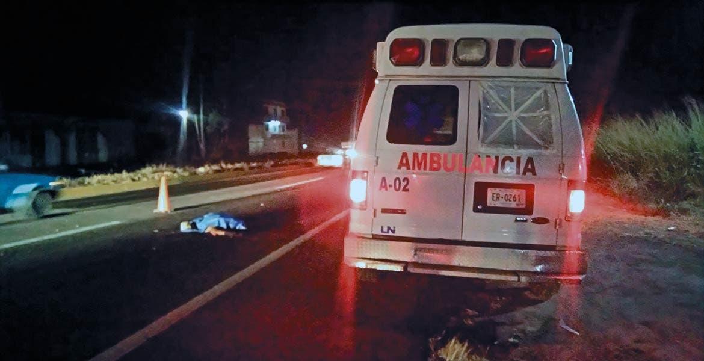Deceso. Un hombre murió al ser atropellado y despedazado presuntamente por un camión en Atlatlahucan.