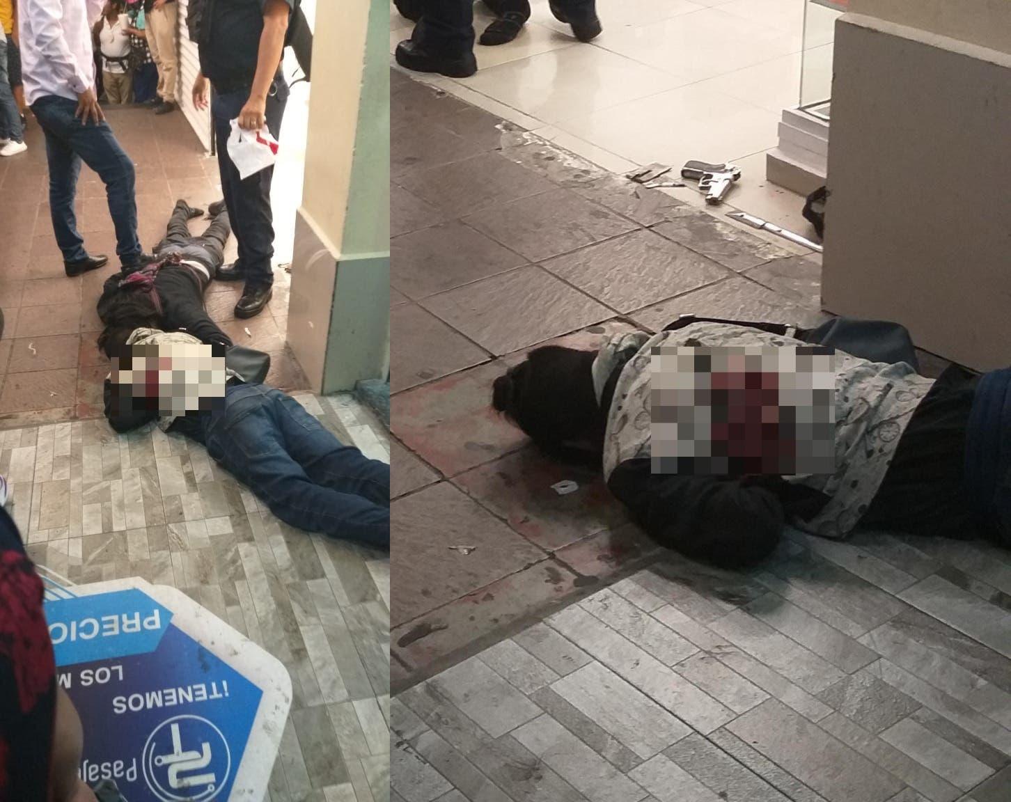 Matan a sujeto a balazos en el Centro de Cuernavaca