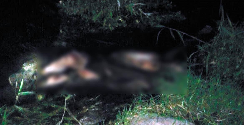 """El cadáver. Un hombre fue hallado sin vida flotando en el río Cuautla, atrás del Balneario Ejidal """"El Almeal"""", a la altura de la colonia Otilio Montaño, de Cuautla."""