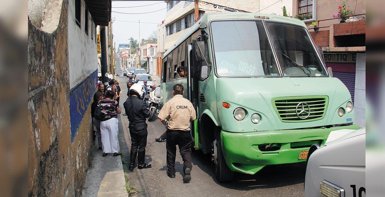Detención. El rutero Mario Alberto fue aprehendido y puesto a disposición del Ministerio Público, por el delito de homicidio