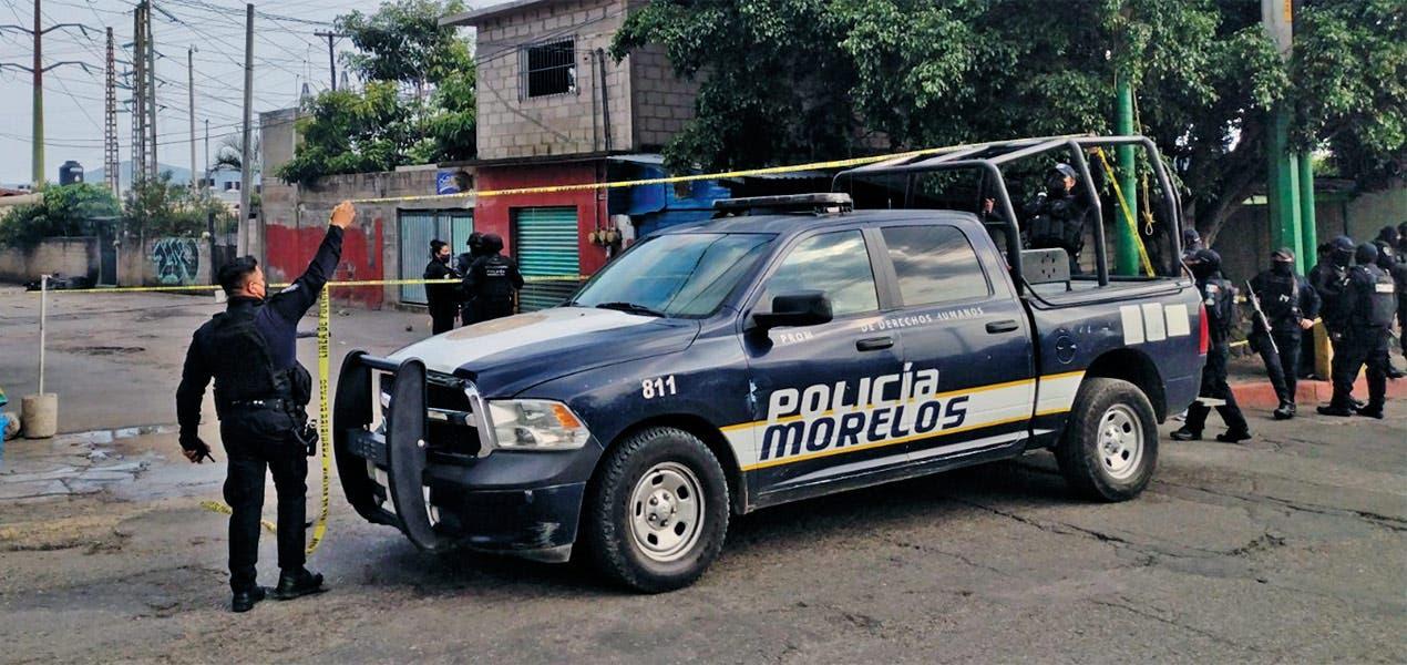 En defensa, policía mata un hombre en Jiutepec