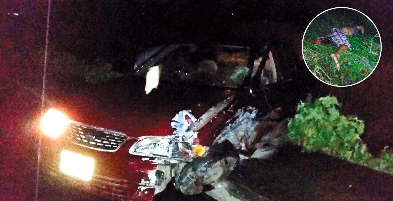 Accidente. Mario Eduardo murió al ser impactado por un auto y proyectado hacia afuera del camino, cuando viajaba en su moto por la carretera Molinos, en Jojutla.