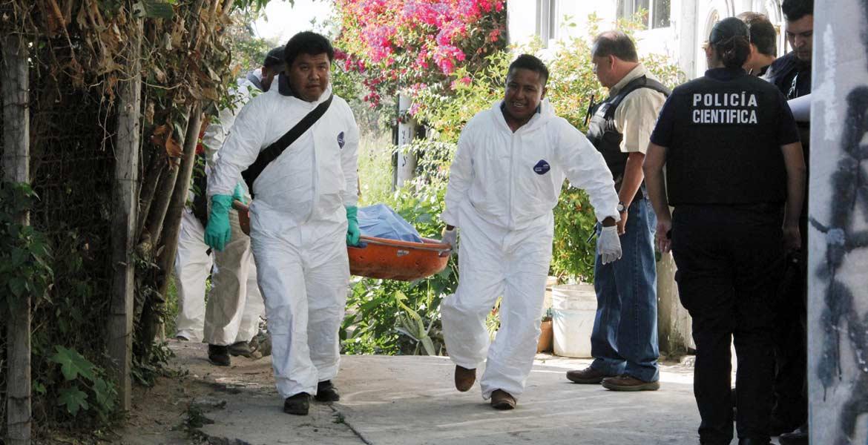 Homicidio. Un joven fue asesinado a pedradas y abandonado en un sembradío de rosas, en el callejón Del Canal y calle Palmeras, de la colonia Rubén Jaramillo, de Temixco.