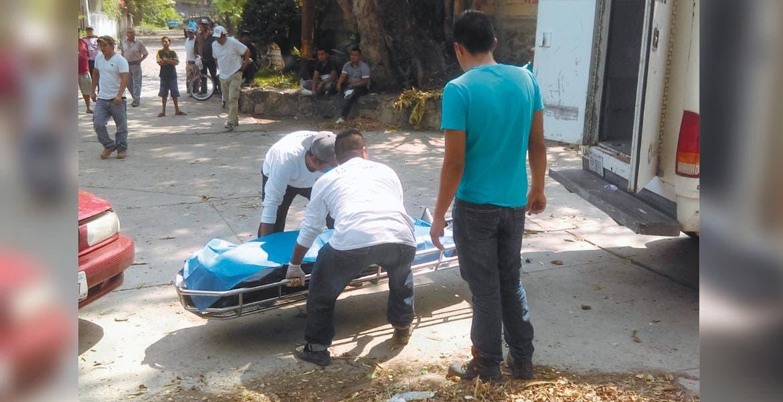 Homicidio. Un hombre fue asesinado a machetazos en la colonia Centro del poblado de Ticumán