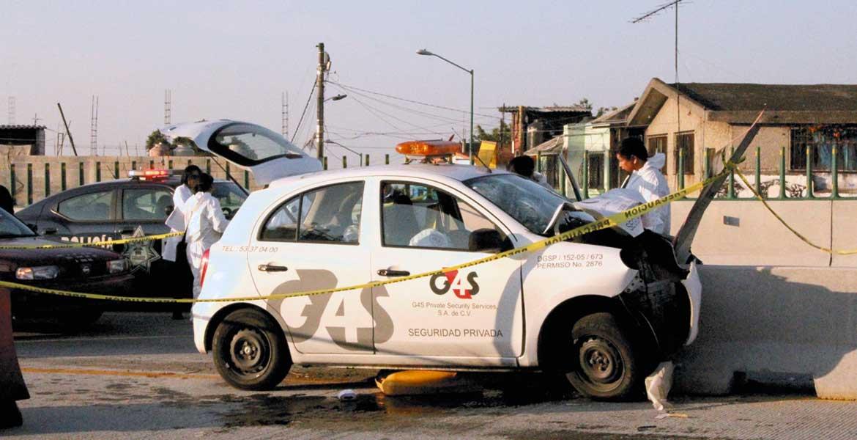 Percance. Un guardia de seguridad privada murió al chocar un auto en el Paso Express.