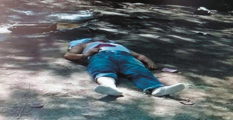 Homicidio. Rufino Cruz Hernández fue asesinado a balazos cuando le daba de comer a sus vacas.