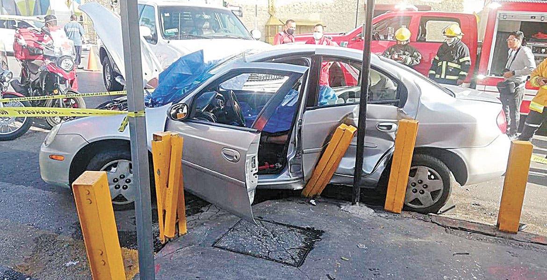 Acaba sin vida una mujer en choque, en Cuernavaca