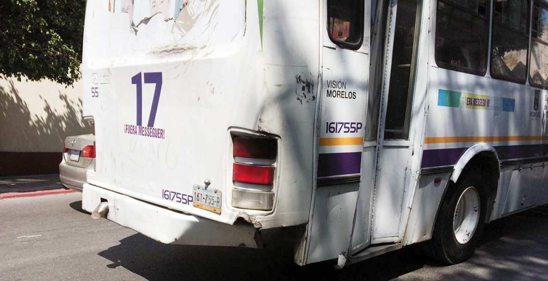 Operativo. Rutas y taxis en mal estado fueron infraccionados por parte de la Secretaría de Movilidad; las acciones se realizan en todo el estado.