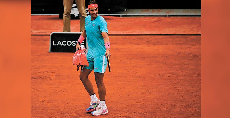 Nadal barrió a Sinner y será rival de Schwartzman en la semifinal