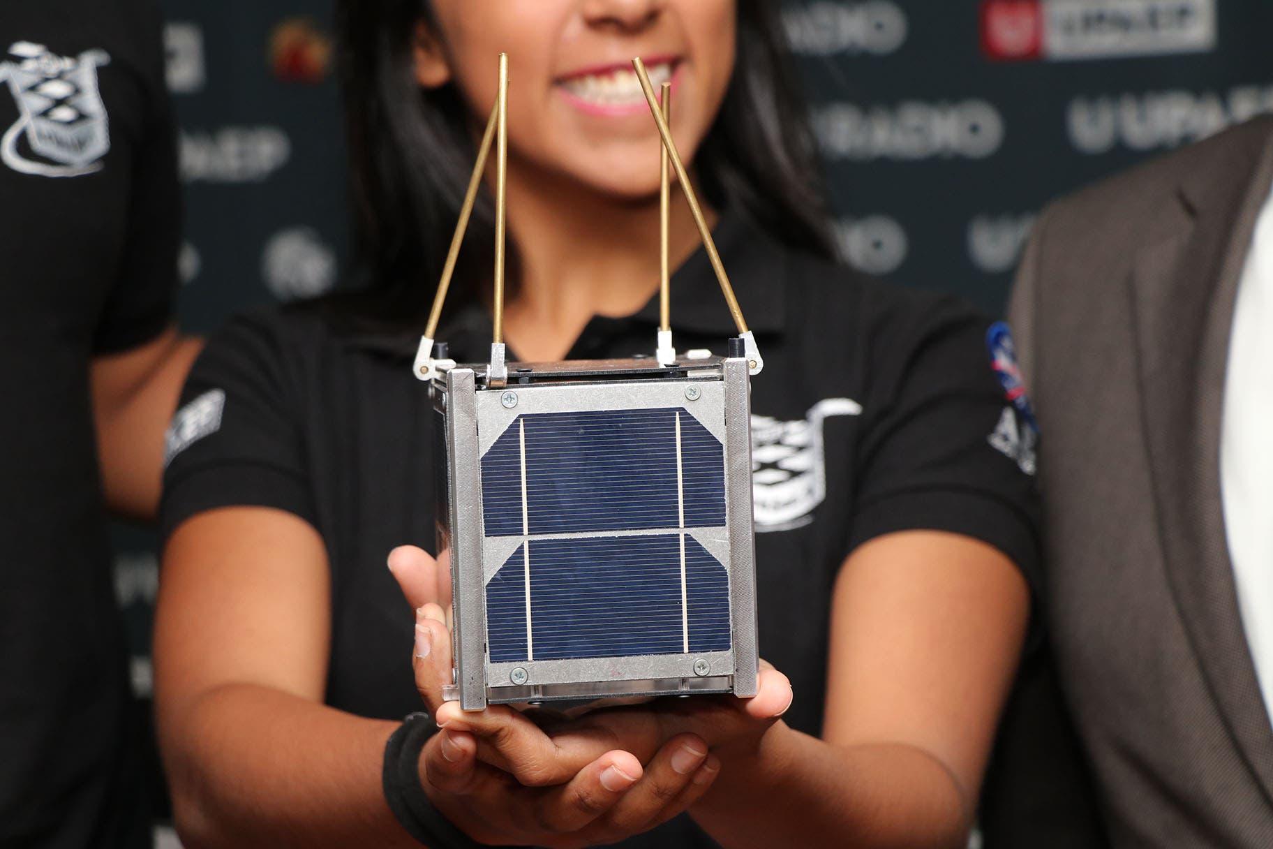 VuelveMéxico al espacio con nanosatélite poblano