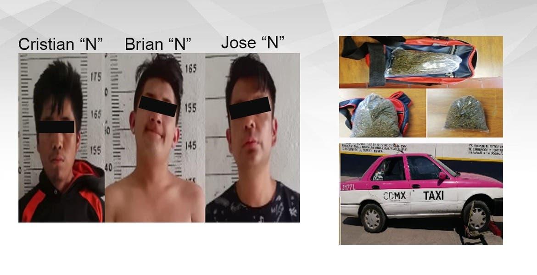 """Caen en Morelos 3 """"narquitos"""" de CDMX"""