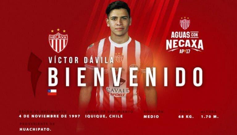 Víctor Dávila y Daniel Álvarez, primeros refuerzos del Necaxa