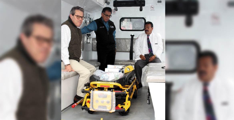 Equipo. Con las 2 nuevas ambulancias, el IMSS ahora cuenta con 5 unidades para prestar un mejor servicio a los usuarios.