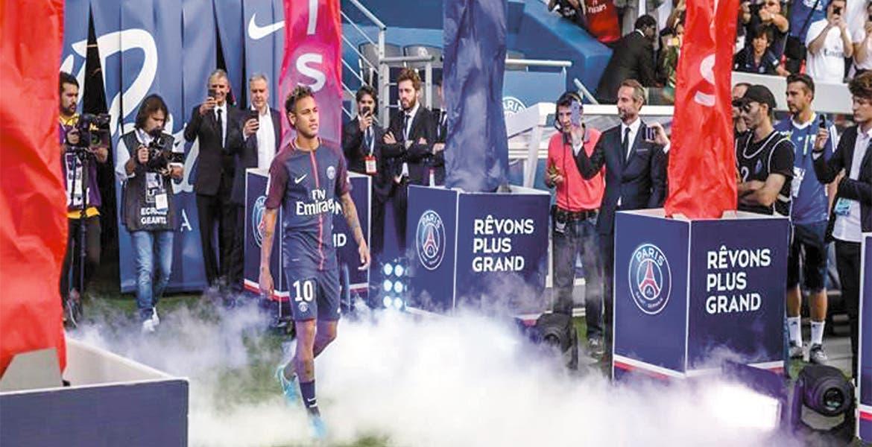 ¿Desde cuándo negoció Neymar con PSG?
