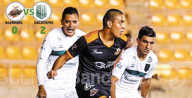 Pierde Alebrijes en casa 2-0 ante el Zacatepec