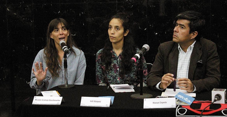 Lucy Muro, Ireli Vázquez y Manuel Zepeda.