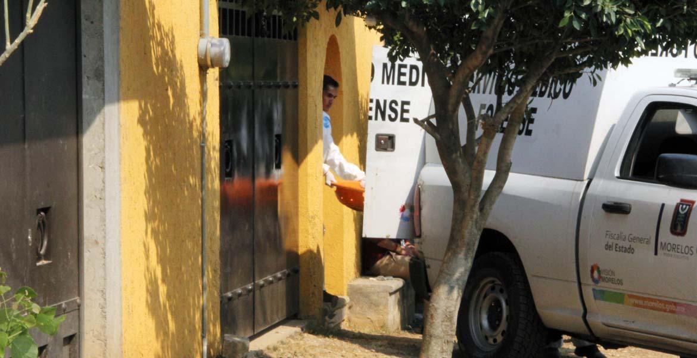 Diligencias. Los restos de dos personas desmembradas fueron hallados enterrados en el patio de una casa, en el barrio de Los Ramos del poblado de Ocotepec.