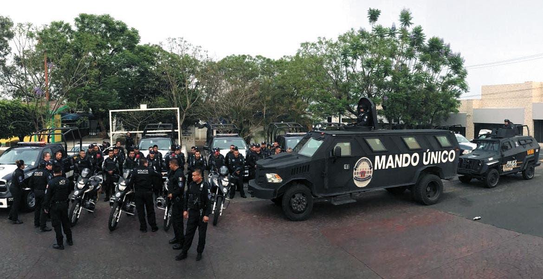 Operativo. Con el despliegue de 100 elementos de la Policía Morelos buscarán disminuir la incidencia delictiva en Jiutepec.