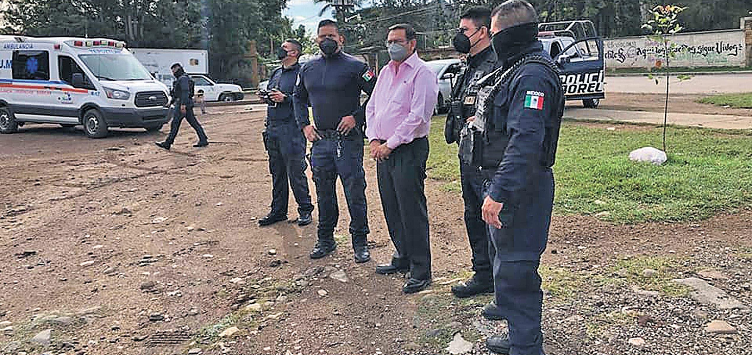 Operativo en Tepoztlán