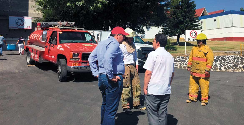 Siniestro. Protección Civil encontró varias deficiencias al inspeccionar la empresa Tecnos, tras la explosión suscitada el sábado en el área de secado.