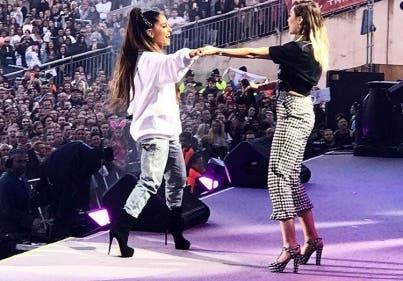 Ariana Grande dio un recital a beneficio en Manchester