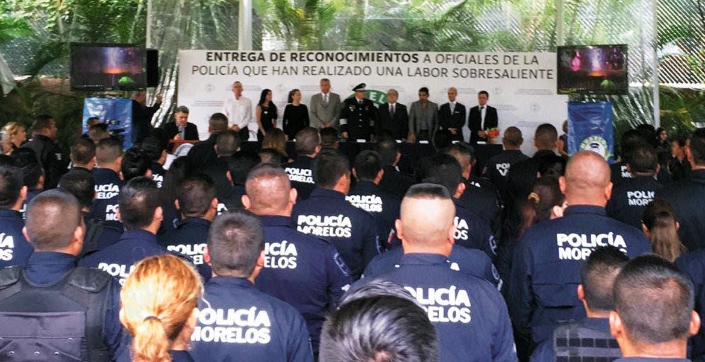 Reconocimiento. El jueves, elementos policiacos fueron reconocidos por su destacada labor al servicio de la ciudadanía