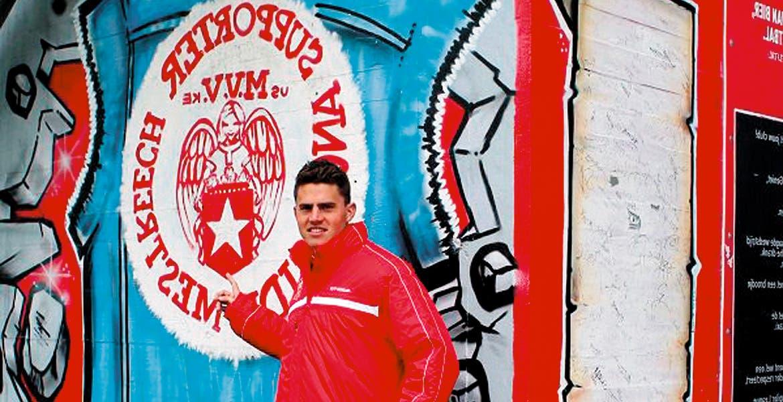 Es morelense! El delantero originario de Jiutepec juega para el MVV Maastricht y busca subir a la Primera División de la Liga holandesa.