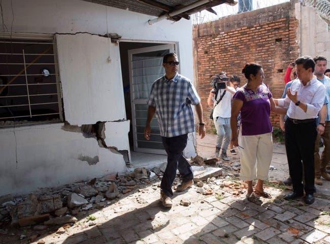 Aumenta cifra de muertos tras terremoto en México