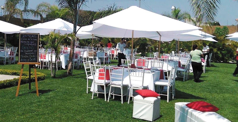 Pega informalidad a jardines de eventos diario de morelos for Jardines para eventos