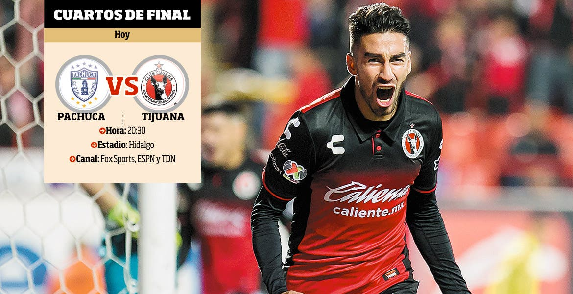 Pachuca vs Xolos: EN VIVO, Cuartos de final, Copa MX