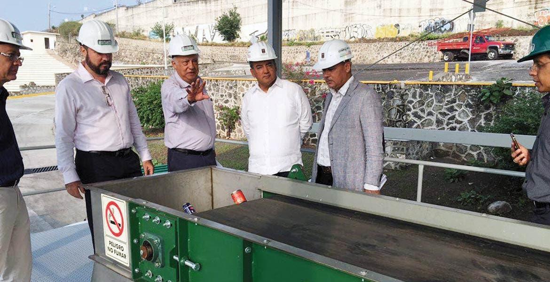 En marcha. La planta de valorización de Xochitepec fue la primera que se concluyó yserá inaugurada el 14 de febrero.