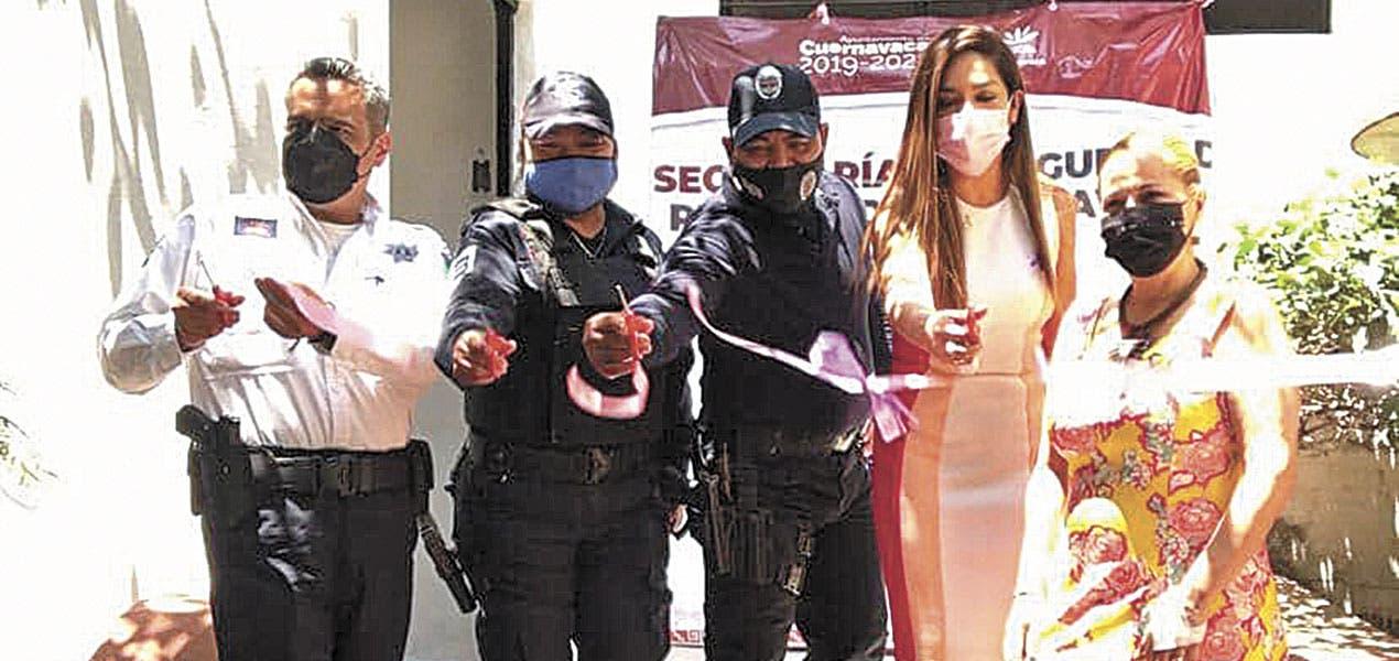 Entregan módulo para Policía de Género; estará en colonia Satélite, de Cuernavaca