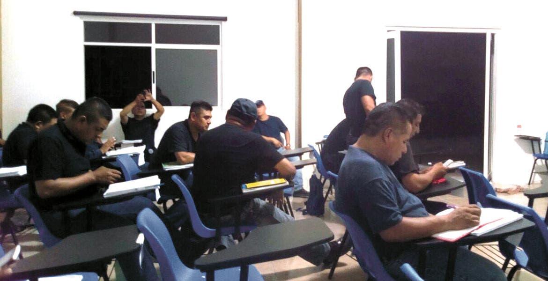 Capacitación. El objetivo es que los elementos policiacos cuenten con las herramientas para cumplir las especificaciones del Mando Único.