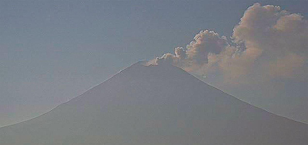 Registra el Popocatépetl 114 emisiones