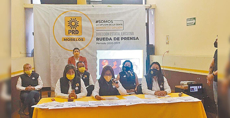 PRD Morelos no postulará a agresores de mujeres