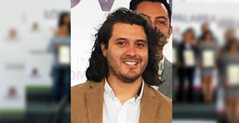 Jasond Parra Cárdenas, galardonado.