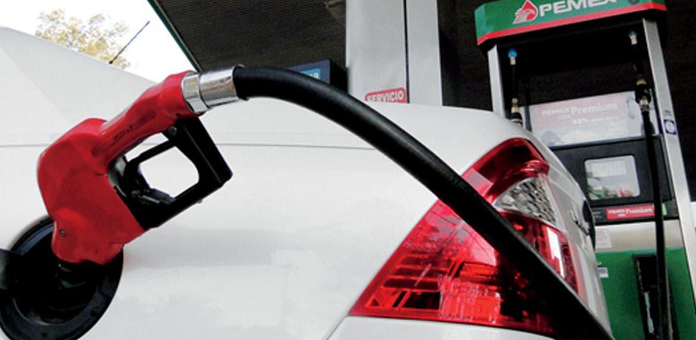 A la conmutación al gas es gastada la gasolina